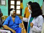 महिला की दोनों आंखों में फैल चुका था संक्रमण, तो दो मरीजों के सिर का हुआ ऑपरेशन|जबलपुर,Jabalpur - Dainik Bhaskar