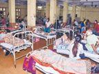 विशेषज्ञों ने कहा- इस रोग से पूरी तरह डैमेज हो जाते हैं फेफड़े, मेडिकल में अब तक ब्लैक फंगस से 17 मौतें जबलपुर,Jabalpur - Dainik Bhaskar