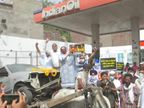 पेट्रोल-डीजल की बढ़ती कीमतों के खिलाफ कांग्रेस का देशभर में प्रदर्शन; यूथ कांग्रेस ने मोदी और उनके मंत्रियों को साइकिल भिजवाई|देश,National - Dainik Bhaskar