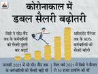 कंपनी के 80% कर्मचारियों को मिलेगा बढ़ोतरी का फायदा, जनवरी में भी किया था इंक्रीमेंट|बिजनेस,Business - Money Bhaskar