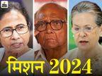 ममता 25 जुलाई से दिल्ली दौरे पर; सोनिया, पवार समेत विपक्षी नेताओं से मुलाकात करेंगी देश,National - Money Bhaskar