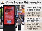 दुनिया में कोरोना की तीसरी लहर शुरू, WHO का ऐलान; डेल्टा वैरिएंट की वजह से भारत भी इसके करीब|देश,National - Money Bhaskar