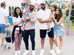 परिवार के साथ बगैर मास्क के घूमे रोहित-रहाणे, पंत फुटबॉल मैच देखने पहुंचे तो अश्विन ने विम्बलडन का मजा लिया क्रिकेट,Cricket - Money Bhaskar