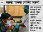 वैक्सीन के दोनों डोज ले चुके हैं फिर भी मास्क लगाना जरूरी, कैलिफोर्निया यूनिवर्सिटी ने WHO के सुझाव का किया समर्थन|विदेश,International - Money Bhaskar