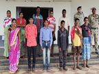 3 महिला नक्सली भी शामिल, इनमें 1 लाख रुपए की 1 इनामी; शहीदी सप्ताह के पहले दिन लोन वर्राटू अभियान में हुई वापसी|जगदलपुर,Jagdalpur - Money Bhaskar
