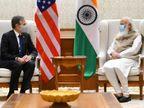 अमेरिकी विदेश मंत्री ने प्रधानमंत्री मोदी से मुलाकात की, बोले- कोरोना को मिलकर हराएंगे देश,National - Money Bhaskar