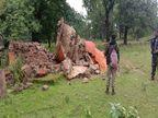 दंतेवाड़ा के रेवाली में DRG जवानों ने ढहाया 2 इनामी महिला नक्सलियों का स्मारक, SP बोले- नक्सल मुक्ति की ओर बढ़ रहा जिला|जगदलपुर,Jagdalpur - Money Bhaskar