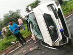 इंदौर से जयपुर नेशनल कॉम्पिटिशन में शामिल होने जा रहे दो खिलाड़ियों की कार धार में डिवाइडर से टकराई; एक की मौत, एक गंभीर|धार,Dhar - Money Bhaskar