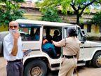 दबिश देने गई आबकारी टीम से महिला ने झूमाझटकी कर आरोपी पति को भगाया; रहवासी बोले - मोघट पुलिस ही करती है हफ्ता वसूली खंडवा,Khandwa - Money Bhaskar