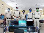 परासिया पुलिस ने मारा छापा 49 हजार की LCD जब्त, दुकानदार पर कॉपी राइट एक्ट का प्रकरण दर्ज|छिंदवाड़ा,Chhindwara - Money Bhaskar