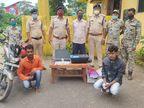 कलर प्रिंटर से छापते थे 100, 200 और 500 के नोट; जगदलपुर में खपाने जा रहे 2 युवकों को पुलिस ने गिरफ्तार किया, 78 हजार के जाली नोट जब्त|जगदलपुर,Jagdalpur - Money Bhaskar