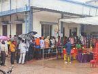 केंद्रों पर सुबह कम पहुंचे लोग, दोपहर बाद बढ़ी भीड़, 23,305 ने लगवाई वैक्सीन|ग्वालियर,Gwalior - Money Bhaskar