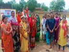 शहरी क्षेत्र में शामिल हुआ गांव तो अवैध कब्जा होने लगा, सरकारी जमीन बचाने 400 महिलाओं ने डेढ़ एकड़ में खोद दिया तालाब|बिलासपुर,Bilaspur - Money Bhaskar