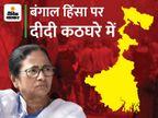 कलकत्ता हाईकोर्ट का आदेश- बंगाल चुनाव के बाद हुई हिंसा में रेप और हत्या के मामलों की CBI जांच की जाए; 6 हफ्ते में स्टेटस रिपोर्ट मांगी देश,National - Money Bhaskar