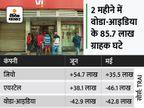 वोडाफोन-आइडिया को झटका, रिलायंस जियो ने फिर मारी बाजी; जून में 54.7 लाख नए ग्राहक जोड़े|बिजनेस,Business - Money Bhaskar
