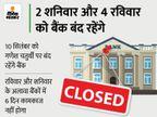 सितंबर में 12 दिन बैंकों में नहीं होगा कामकाज, खाते या चेक का काम हो तो छुट्टियों के ये दिन याद रखें बिजनेस,Business - Money Bhaskar