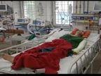ब्लू वर्ल्ड के झूले की सेफ्टी बेल्ट टूटने से काफ़ी ऊंचाई से गिरा युवक, हालत गम्भीर ICU में भर्ती कानपुर,Kanpur - Money Bhaskar