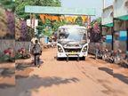 महाराष्ट्र में 15 तक रोक, निजी ट्रेवल्स की बसें शहादा व नंदुरबार कर रही आना-जाना, मिलने लगी सुविधा|बड़वानी,Barwani - Money Bhaskar