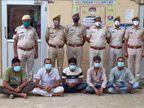 सेक्सटॉर्शन के खेल में 5 युवकों का राजस्थान, महाराष्ट्र और नेपाल तक नेटवर्क, राजगढ़ के पुलिस कॉन्स्टेबल को शिकार बनाया तो पकड़े गए|अलवर,Alwar - Money Bhaskar