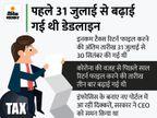 अब 31 दिसंबर तक फाइल कर सकेंगे इनकम टैक्स रिटर्न, 30 सितंबर थी आखिरी तारीख|बिजनेस,Business - Money Bhaskar