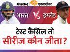 भारत-इंग्लैंड के बीच 5वां टेस्ट कैंसिल; ECB के एक बयान के बाद ये तय नहीं कि भारत 2-1 से जीता या 2-2 रहा नतीजा, जानें आगे क्या होगा|एक्सप्लेनर,Explainer - Money Bhaskar