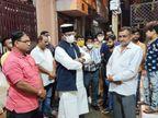 भोपाल के मृतक तीन युवकों के परिजनों काे देने सरकार ने 4-4 लाख रुपए सहायता राशि स्वीकृत की; मंत्री सारंग ने परिजनों से घर जाकर की मुलाकात|भोपाल,Bhopal - Money Bhaskar