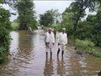 27 परिवारों ने घर छोड़ा, गांव के आसपास भरा पानी, 3 गांवों पर गहरा रहा बाढ़ का संकट, फसले भी हुईं खराब|छिंदवाड़ा,Chhindwara - Money Bhaskar