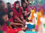बर्तन, झांझ-मंजीरे और ढोलक बजाते हुए महिलाएं पहुंची गणपति के द्वार, मांग पत्र अर्पित किया; सुविधाएं मिलने तक जारी रहेगा आंदोलन|भोपाल,Bhopal - Money Bhaskar