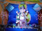 रायसेन में बप्पा की झांकी देखने बड़ी संख्या में पहुंच रहे श्रद्धालु, इंदौर में भगवान राम के स्वरूप में गणेश जी|मध्य प्रदेश,Madhya Pradesh - Money Bhaskar