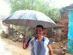 भिंड में 24 घंटे के अंदर जमकर बरसेंंगे बादल, कही रिमझिम तो कही तेज बारिश की चेतावनी, लोगों ने रैनकोट और छाते निकले|भिंड,Bhind - Money Bhaskar