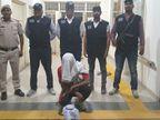 इंस्पेक्टर सोनू मलिक पर फायरिंग करने का आरोपी है गिरफ्तार रोहित उर्फ बच्ची, आरोपी के खिलाफ और भी कई केस दर्ज हिसार,Hisar - Money Bhaskar