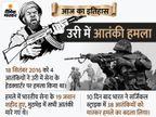 4 आतंकियों ने उरी में सेना के हेडक्वार्टर पर किया था हमला, 10 दिन बाद भारत ने सर्जिकल स्ट्राइक कर लिया बदला|देश,National - Money Bhaskar