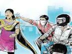 मंदिर जा रही महिला से बाइक सवार बदमाशों ने झूमाझटकी कर खींची सोने की चेन; CCTV के आधार पर आरोपियों की तलाश में जुटी पुलिस|खंडवा,Khandwa - Money Bhaskar