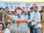 रीवा में संकल्प दिवस के रूप में मनाई गई पूर्व विधानसभा अध्यक्ष की जयंती, कार्यक्रम में उमड़े MP कांग्रेस के दिग्गज नेता|रीवा,Rewa - Money Bhaskar