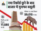 बाजार में मुनाफा वसूली, ऊपरी स्तर से सेंसेक्स 700 और निफ्टी 200 पॉइंट फिसला; बैंकिंग, मेटल शेयर्स गिरे|बिजनेस,Business - Money Bhaskar