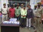 मंदिर के सेवादारों ने सट्टे का कर्जा उतारने के लिए की वारदात, चांदी के बर्तनों को गला कर प्लेट बना ली, दो युवक व कबाड़ी गिरफ्तार|जयपुर,Jaipur - Money Bhaskar