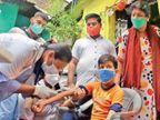 दूसरी लहर में 80% घरों तक पहुंचा कोरोना; 75% बच्चों में मिली एंटीबॉडी; 1800 बच्चों के बीच किया गया था सर्वे|इंदौर,Indore - Money Bhaskar