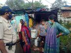 इंदौर के जोन 14 में लोगों को दी समझाईश, सफाई रखें, जलजमाव ना होने दे, फागिंग मशीन से धुआं करवाया|इंदौर,Indore - Money Bhaskar