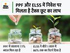 टैक्स बचाने के साथ चाहते हैं बेहतर रिटर्न तो PPF या ELSS में कर सकते हैं निवेश, यहां जानें इनसे जुड़ी खास बातें|बिजनेस,Business - Money Bhaskar