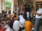 गुस्साए भाजपा पार्षदों ने नगर निगम आयुक्त के चेंबर में किया विरोध, नगर निगम ग्रेटर के बाद अब हेरिटेज में भी शुरू हुआ विवाद जयपुर,Jaipur - Money Bhaskar