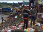 पत्थर की खदान में निगमकर्मियों ने फेंकी गणेश प्रतिमा, वीडियो सामने आने के बाद आयुक्त ने लगाई फटकार, कहा-खेद है इंदौर,Indore - Money Bhaskar