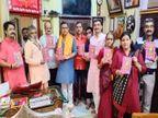 वाराणसी के दुर्गा भक्त इस शारदीय नवरात्रि पर शक्ति के 1 हजार नामों का करेंगे पाठ; बांटी जाएंगी हजारों पुस्तकें|वाराणसी,Varanasi - Money Bhaskar