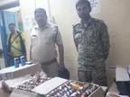 पुलिस ने पकड़ी सात पेटी अंग्रेजी शराब, लगातार दवाब के बावजूद पुलिस ने कर दिया खुलासा|मुरैना,Morena - Money Bhaskar