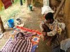 7 महीने का बच्चा रोने लगा तो मिर्गी की दवाई दे दी; पति ने मना किया, नहीं मानी तो साड़ी को गले में कसकर मार डाला|छत्तीसगढ़,Chhattisgarh - Money Bhaskar