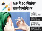 फर्स्ट डोज 100% लगाने का टारगेट, CM बोले- हर हाल में कंप्लीट करेंगे टॉस्क; मंत्री-विधायकों को जिम्मेदारी|भोपाल,Bhopal - Money Bhaskar