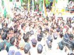 जबलपुर में कांग्रेस विधायक की अगुवाई में जनआक्रोश पदयात्रा निकाली गई, कलेक्ट्रेट का घेराव करने से पहले पुलिस ने रोका|जबलपुर,Jabalpur - Money Bhaskar