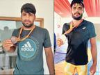 राष्ट्रीय कुश्ती में राजस्थान पुलिस के पहलवानों ने जीते दो मेडल जयपुर,Jaipur - Money Bhaskar
