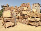 संकट में येलो स्टोन, रॉयल्टी बढ़ाने से 500 करोड़ का कारोबार सिर्फ 10 फिसदी रह गया|जैसलमेर,Jaisalmer - Money Bhaskar