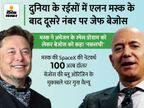 बेजोस ने सोशल मीडिया पर पीटा अमेजन की कामयाबी का ढोल, जवाब में मस्क बोले- हो तो नंबर 2 ही|बिजनेस,Business - Money Bhaskar