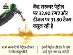 पेट्रोलियम और नेचुरल गैस मंत्री बोले ' पेट्रोल-डीजल की ऊंची कीमतों से हो रही फ्री वैक्सीन की भरपाई'|बिजनेस,Business - Money Bhaskar